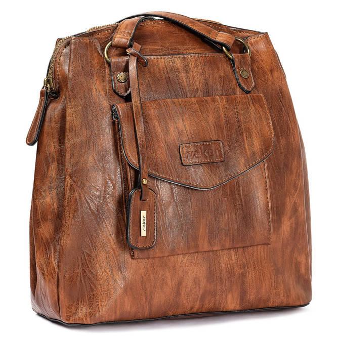 RIEKER H1036-22 brown, plecak, sklep internetowy e-kobi.pl