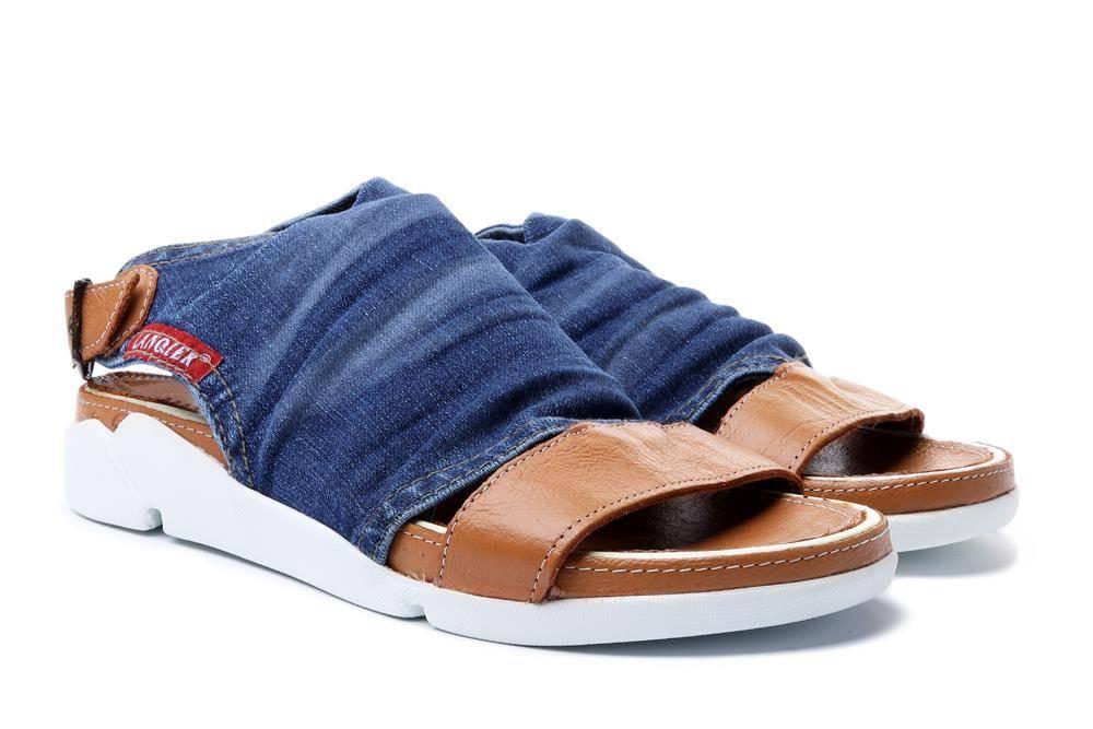 LANQIER 40C283 jeans, sandały damskie, sklep internetowy e-kobi.pl