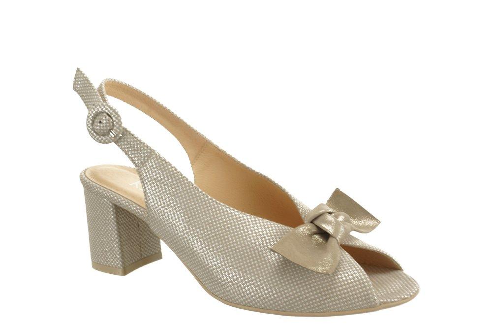KRYSTAD CESAR 94 S beż, sandały damskie