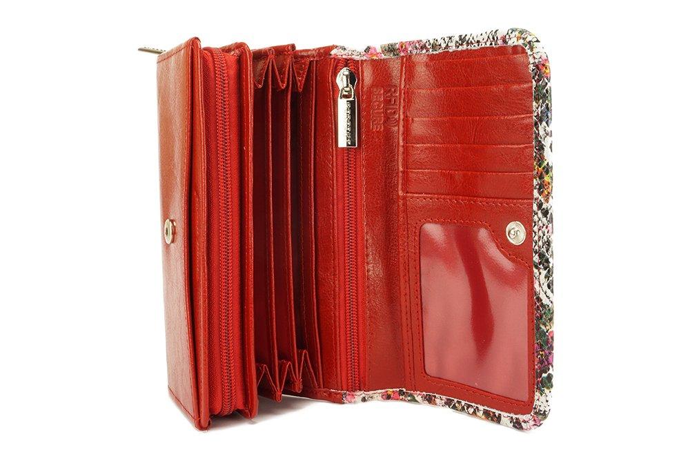 PERFEKT PLUS P/39 II RFID SECURE czerwony, portfel damski, sklep internetowy e-kobi.pl