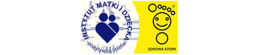 Pozytywna opinia Instytutu Matki i Dziecka oraz Znak Zdrowa Stopa dla butów marki BARTEK, sklep internetowy e-kobi.pl