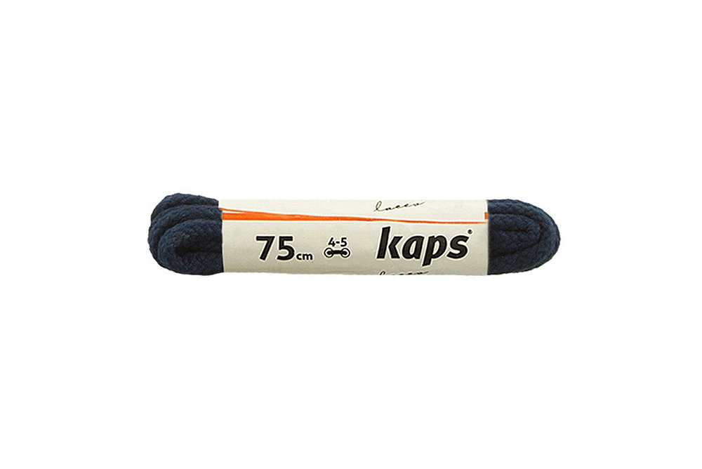 KAPS sznurowadła 75 cm 09_075_200_0057 granatowy, sznurowadła bawełniane, okrągłe, sklep internetowy e-kobi.pl