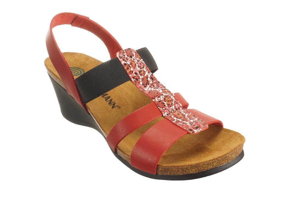 DR. BRINKMANN 710952-4 rot , sandały profilaktyczne damskie, sklep internetowy e-kobi.pl