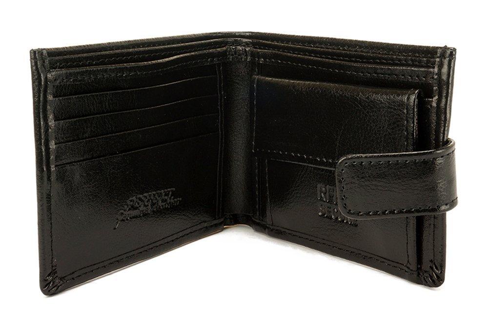 PERFEKT PLUS SK/12A RFID SECURE czarny, portfel męski, sklep internetowy e-kobi.pl