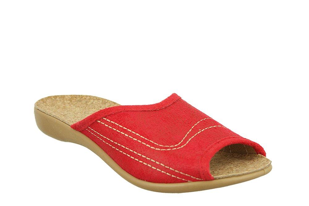 BEFADO 254D 008 czerwony, kapcie damskie, sklep internetowy e-kobi.pl