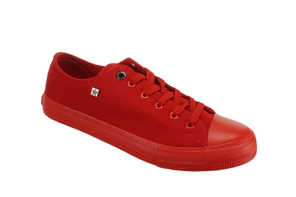 ca04d0a4f117f BIG STAR AA174007 czerwony, półtrampki męskie, sklep internetowy e-kobi.pl