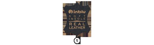 Ikona Inblu Soft Insole Real Leather, sklep internetowy e-kobi.pl