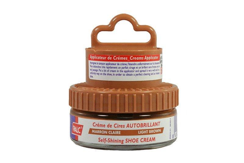 PALC pasta słoik 50 ml jasny brąz, pasta samopołysdkowa w kremie z aplikatorem, sklep internetowy e-kobi.pl