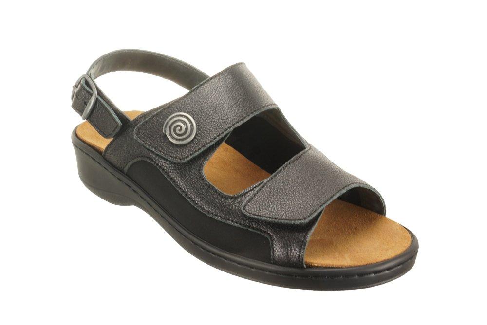 DR. BRINKMANN 710851-1 schwarz, sandały profilaktyczne damskie, sklep internetowy e-kobi.pl