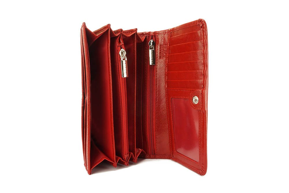 PERFEKT PLUS P/50 A RFID SECURE czerwony, portfel, sklep internetowy e-kobi.pl