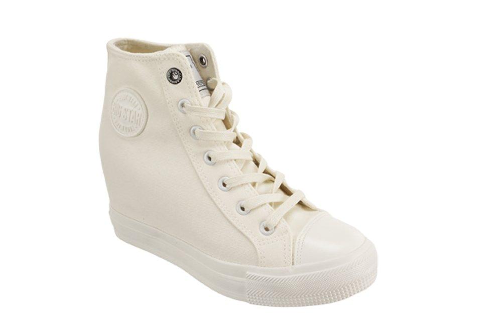 d5f10c5e BIG STAR AA274A089 biały, trampki, sneakersy damskie, sklep internetowy  e-kobi.