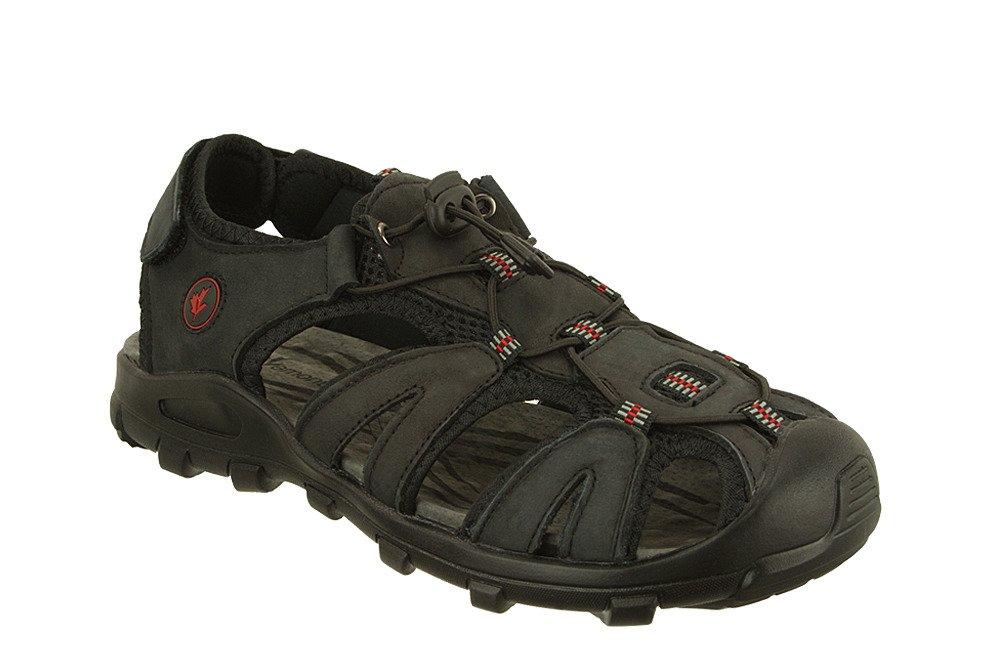 VEMONT 9S2084 C czarny, sandały męskie, sklep internetowy e-kobi.pl