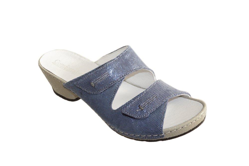 COMFORTABEL 701338-5 blau, klapki damskie, sklep internetowy e-kobi.pl