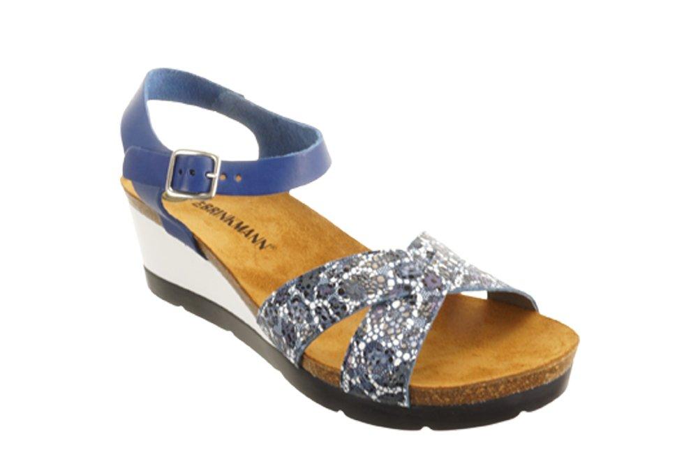 DR. BRINKMANN 710950-5 blau, sandały profilaktyczne damskie, sklep internetowy e-kobi.pl