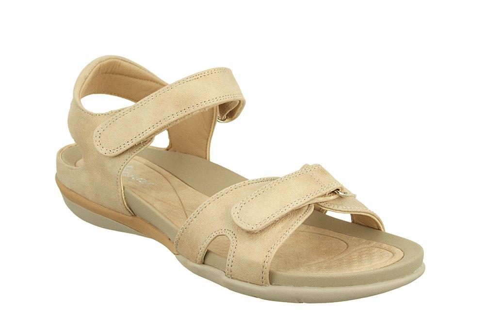 RIEKER V9462-62 beige, sandały damskie