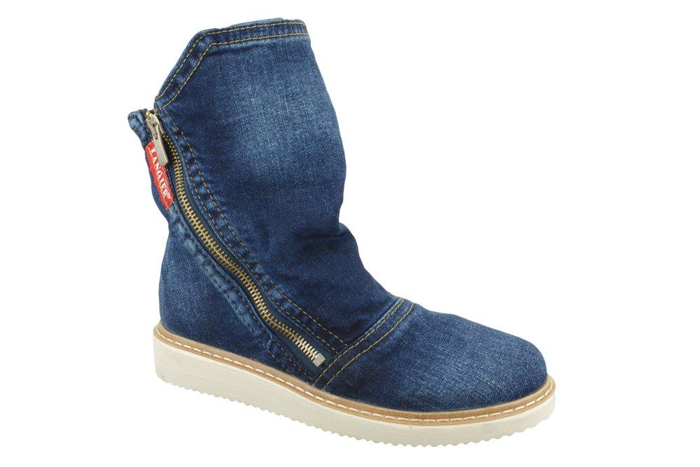 LANQIER 41C229 jeans, botki damskie, sklep internetowy e-kobi.pl