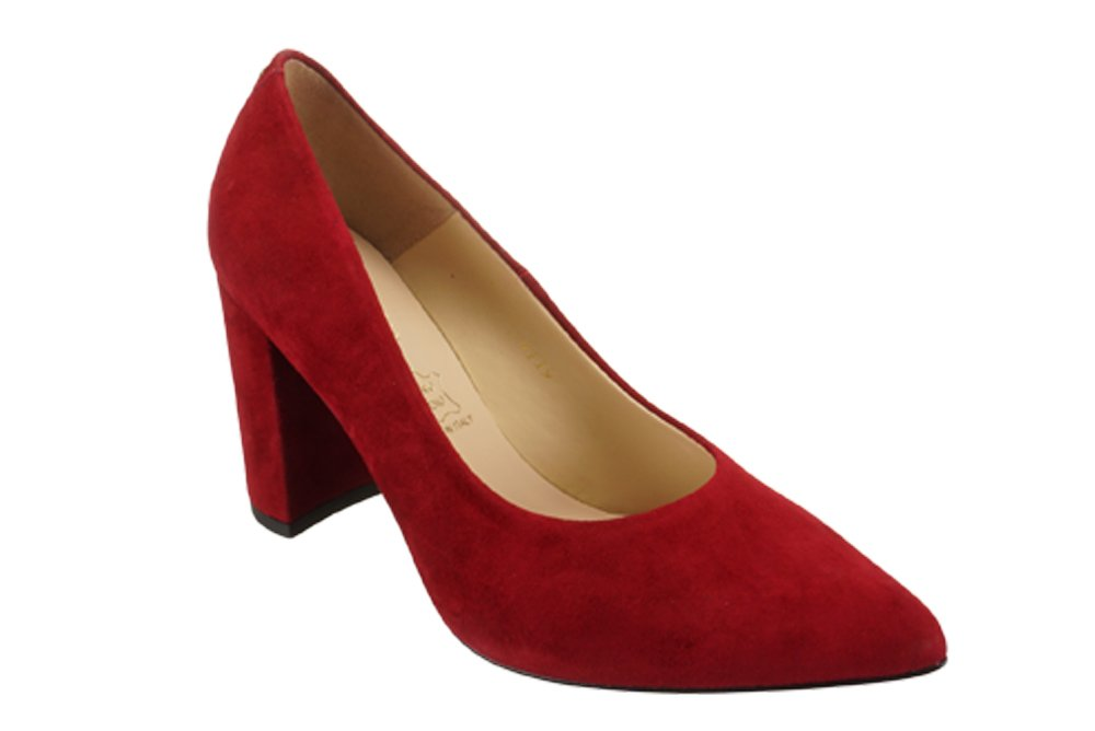 SALA 9119 1432 czerwony, czółenka damskie, sklep internetowy e-kobi.pl