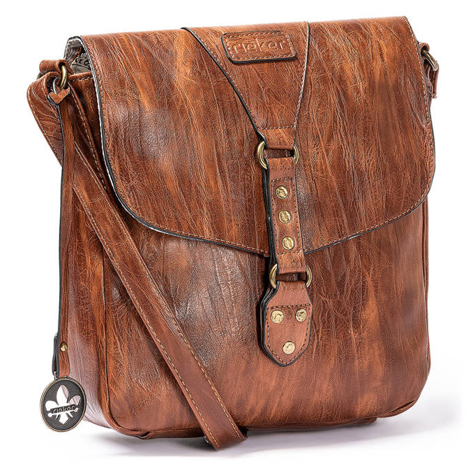 Rieker H1120-22 brown, torebki, sklep internetowy e-kobi.pl
