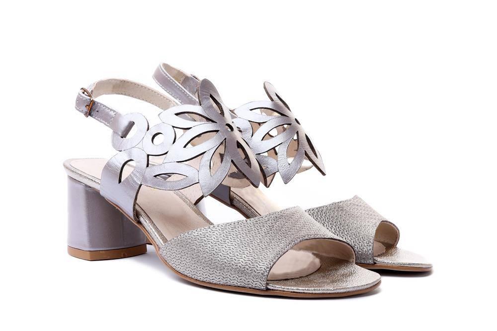 LAMELIA 44C2556 zlota jod+cap, sandały damskie, sklep internetowy e-kobi.pl