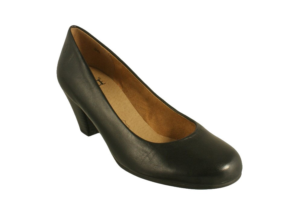 CAPRICE 22400-25 black, czółenka damskie, sklep internetowy e-kobi.pl