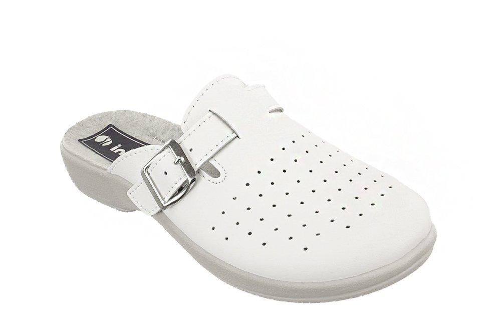 INBLU AE-02 biały, klapki damskie, sklep internetowy e-kobi.pl