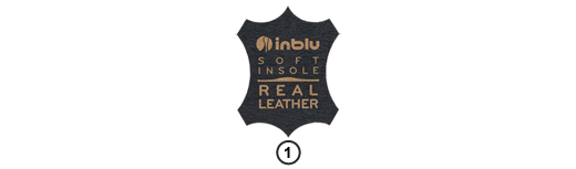 Ikona Inblu Soft Insole Real Leather, sklep internetowy e-kobi.pl