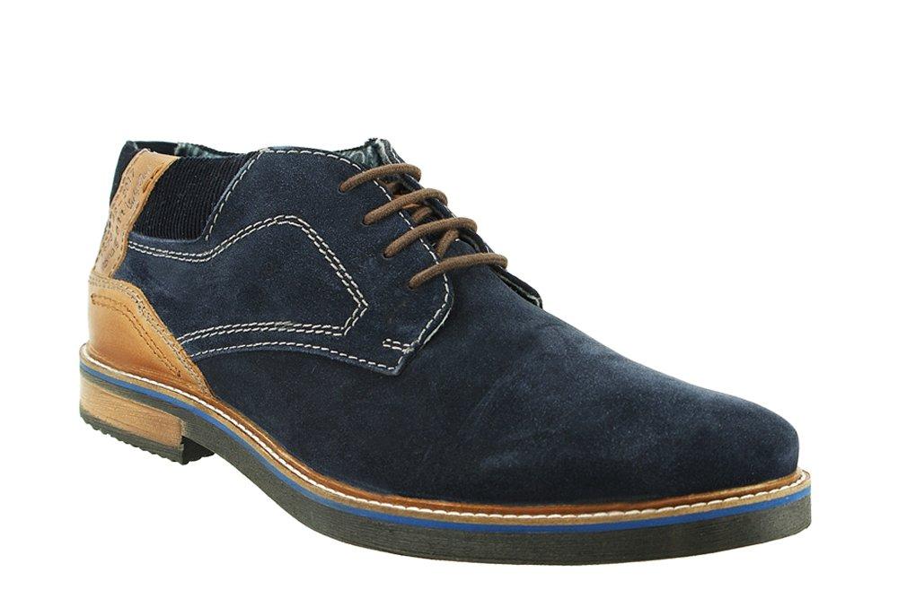 2e53c561 BUGATTI 311-60931-1412 4163 dark blue/cognac, trzewiki męskie, sklep