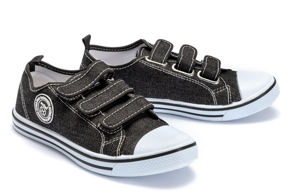 AXIM 5TE4119 czarny, tenisówki dziecięce, rozmiary: 31 36