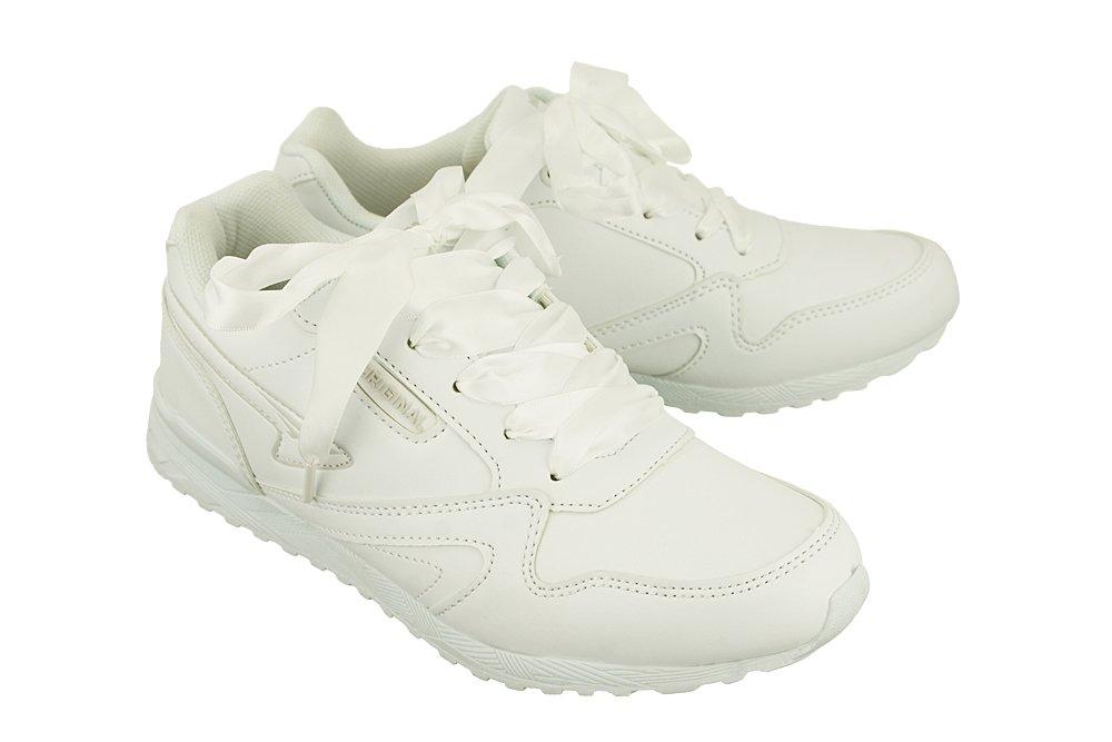 90578cf4 BADOXX LXC-7437 white/white, półbuty sportowe damskie   Sklep e-kobi.pl