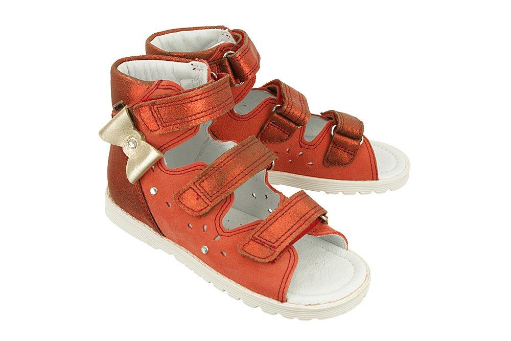 6adfc625f727a BARTEK 86803 ST4 czerwony, obuwie profilaktyczne dziecięce; rozmiary ...