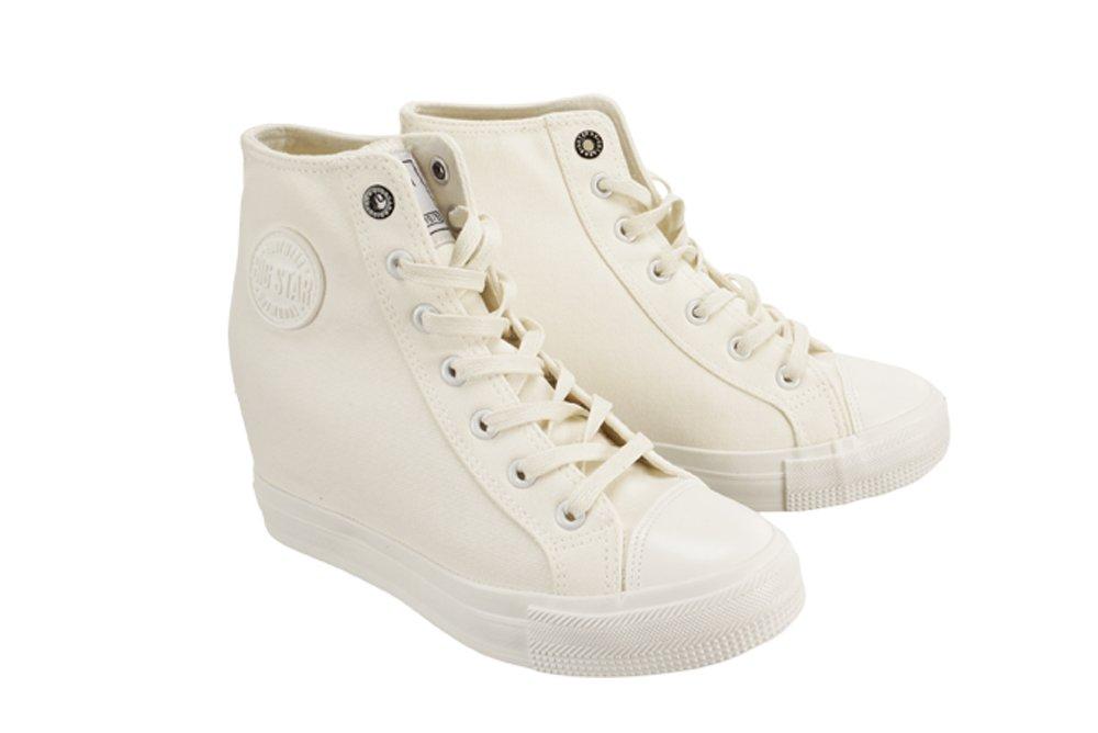 e8732e00 BIG STAR AA274A089 biały, trampki, sneakersy damskie   Sklep e-kobi.pl