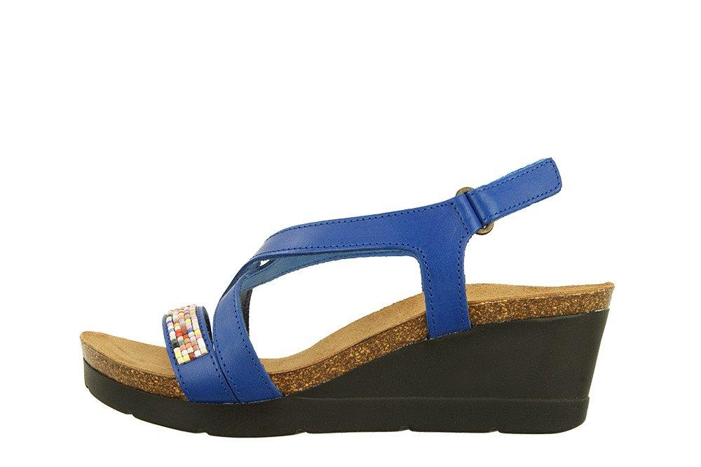DR BRINKMANN 710806 5 blau, sandały profilaktyczne damskie