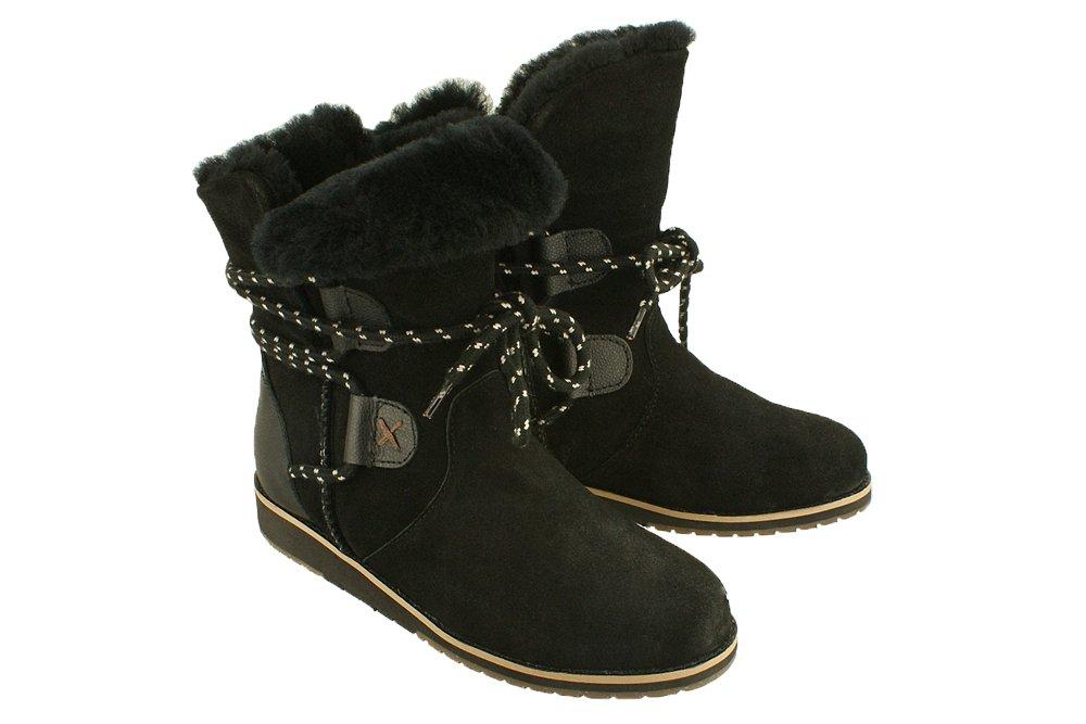 e353f3549a41c EMU AUSTRALIA W11112 LAURINA Lo black, botki damskie Kliknij, aby  powiększyć ...