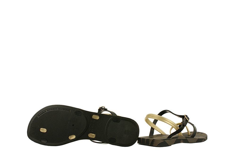 866d909ca6e55 ... IPANEMA 81929 FASHION SAND IV FEM 21117 black/gold, sandały damskie  Kliknij, aby powiększyć