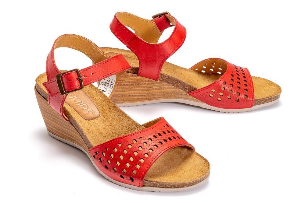 1e8d060b65dd9 LAN-KARS H69-64 czerwony, sandały damskie Kliknij, aby powiększyć ...
