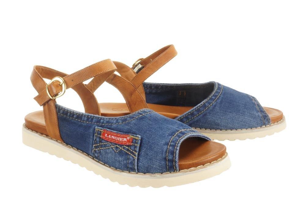 4b3581a0269c2 LANQIER 44C0214 jeans, sandały damskie Kliknij, aby powiększyć ...