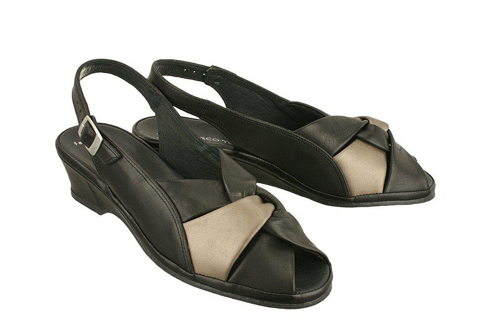 c7dd9b341f0a6 MARCO TOZZI 28910-28 black comb, sandały damskie Kliknij, aby powiększyć ...