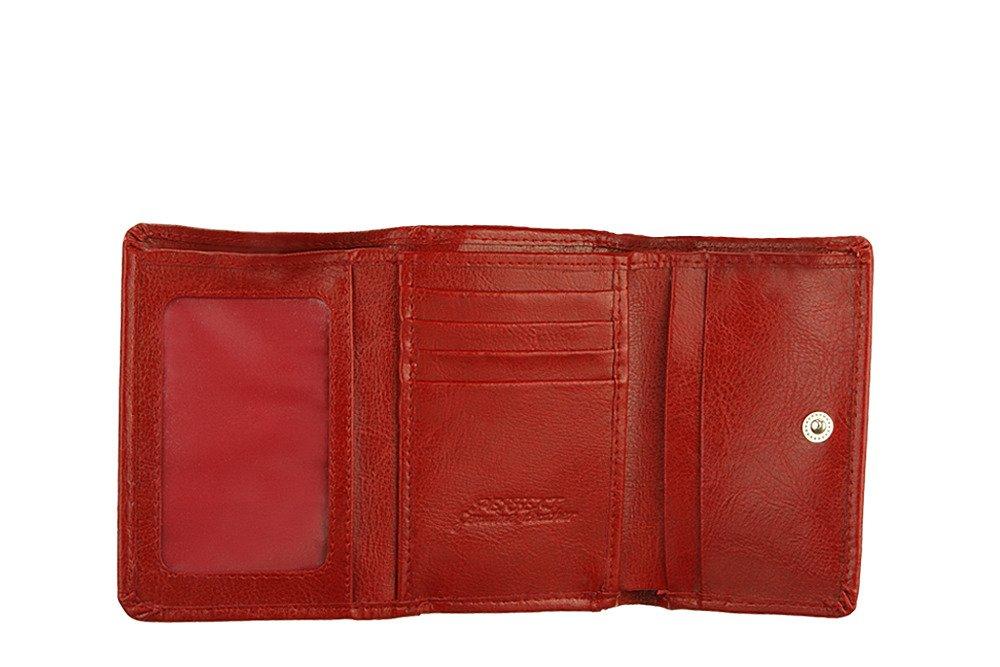 15f72f227974e ... PERFEKT PLUS 11/1 A bigiel/zatrzask czerwony, portfel damski Kliknij,  aby powiększyć ...