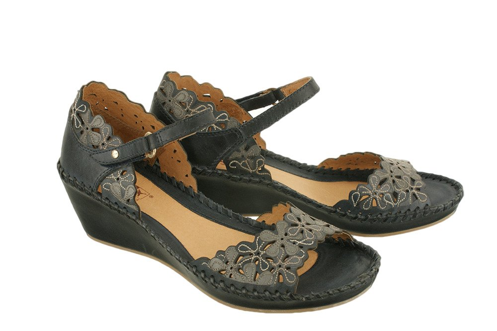 74b6968062caf PIKOLINOS MARGARITA 943-0704 navy blue, sandały, czólenka letnie ...