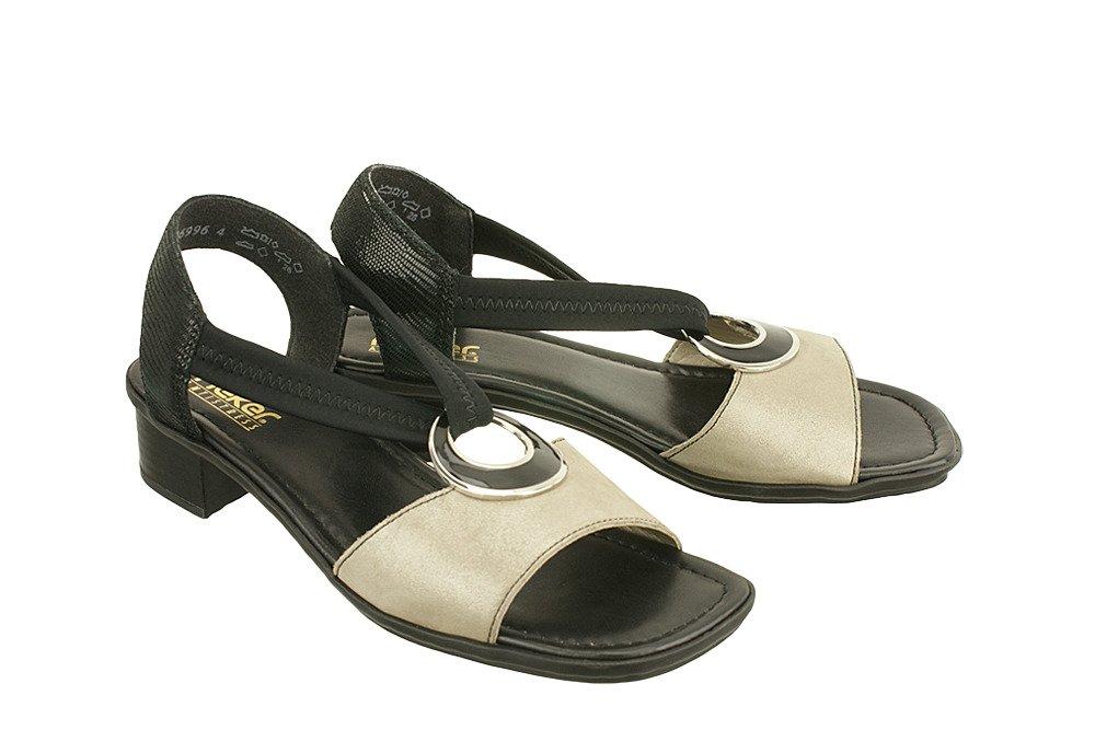 7ee468933ec34 RIEKER 62689-42 grey combination, sandały damskie Kliknij, aby powiększyć  ...