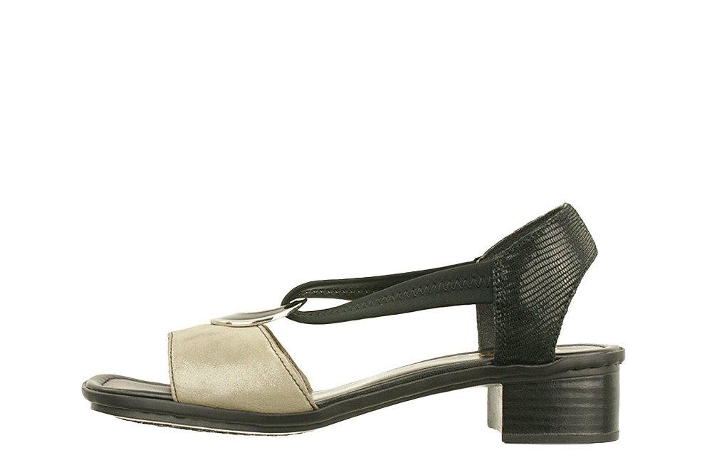 8e18f7cc38bd0 ... RIEKER 62689-42 grey combination, sandały damskie Kliknij, aby  powiększyć ...