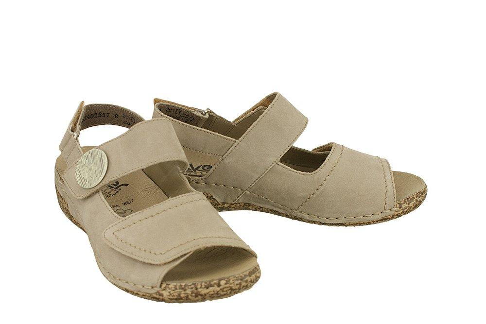 Sandały Rieker V7272 42 na rzep