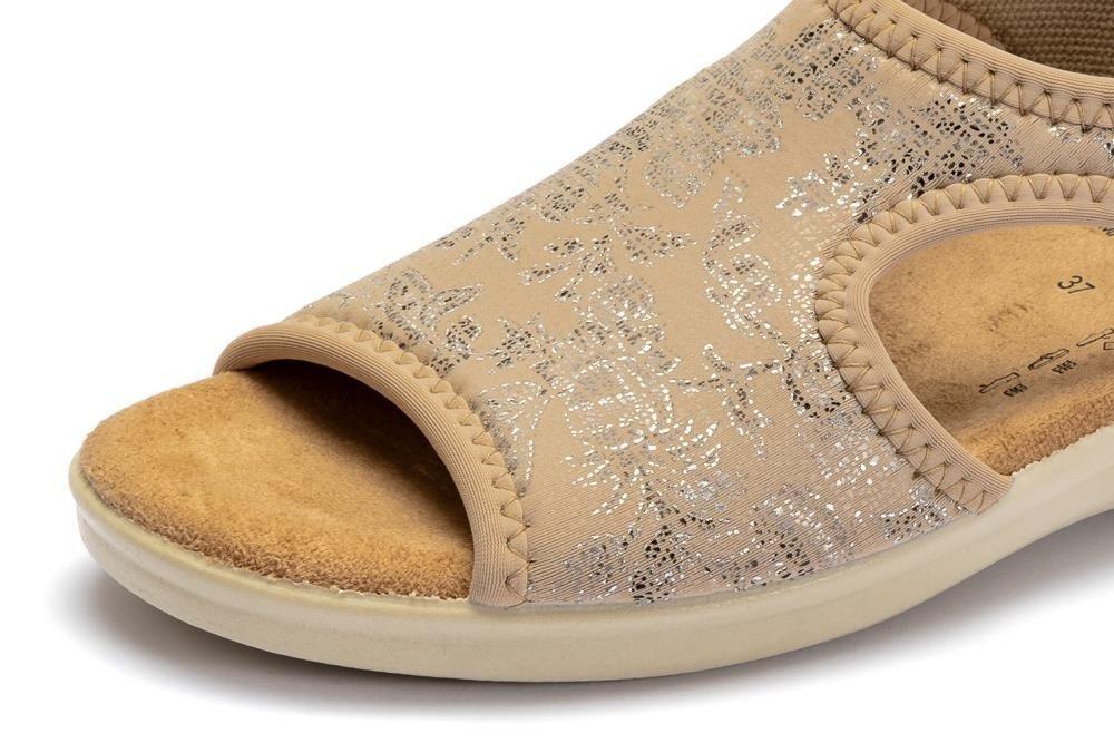 SANITAL FLEX 8056.17 beige, sandały damskie | Sklep e kobi.pl