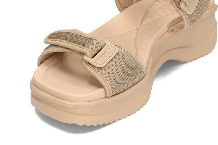Azaleia 320321 beige Wsand, sandały damskie Ceny i