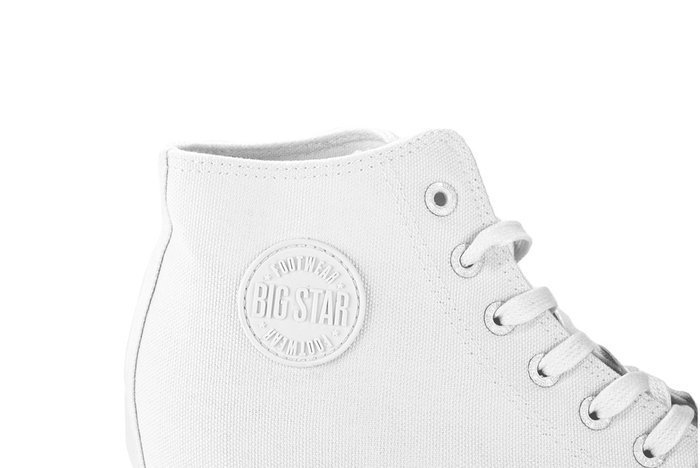 BIG STAR FF274A192 biały, trampki, sneakersy damskie